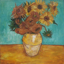 Van Gogh Tribute | Mary Claire
