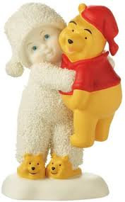 Snowbabies Goodnight Pooh Bear