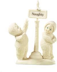 Snowbabies Naughty and Nice
