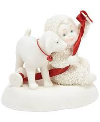 Snowbabies Puppy for Christmas