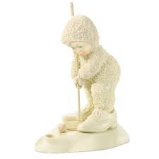 Snowbabies Miniature Golfer