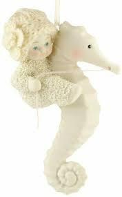 Snowbabies Seahorse