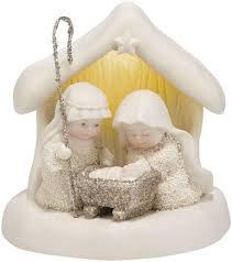 Snowbabies Beneath the Christmas Star