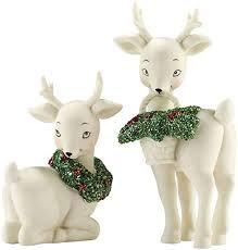 Snowbabies Holly Deer