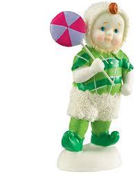 Snowbabies Lollipop Boy