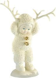 Snowbabies I'm a Real Deer