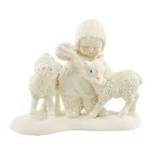 Snowbabies Little Lambs