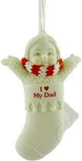 Snowbabies I Love My Dad