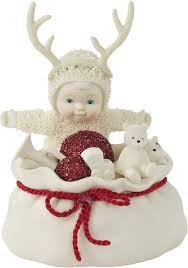 Snowbabies Santa's Little Helper