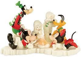 Snowbabies Mickey's Marshmellow Roast