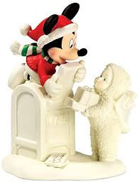 Snowbabies Special Delivery from Mickey