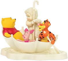 Snowbabies Blistery Day with Pooh