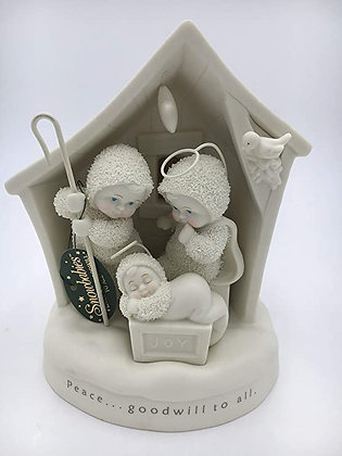 Snowbabies Dream Peace and Goodwill