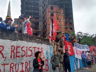 Ocupação do MLB é reprimida com violência em São Bernardo