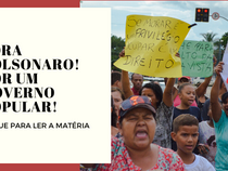Fora Bolsonaro! Por um governo popular!