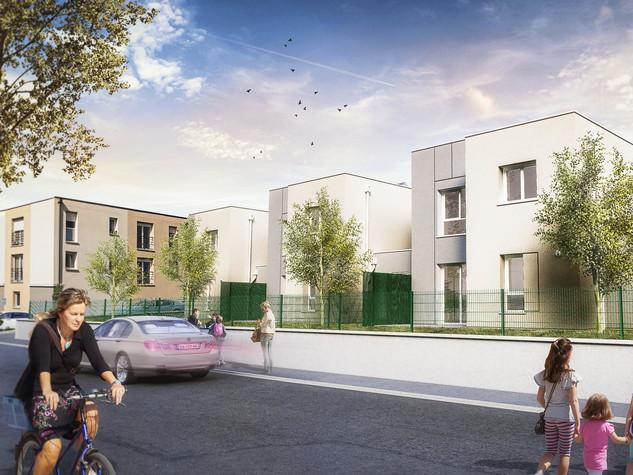 Construction de 3 logements individuels et de 8 logements collectifs