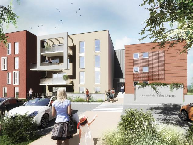 Projet de création de 21 logements