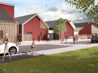 Construction d'un pôle médico-social et de 8 logements