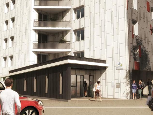 Requalification des façades et réhabilitation intérieure de 275 logements