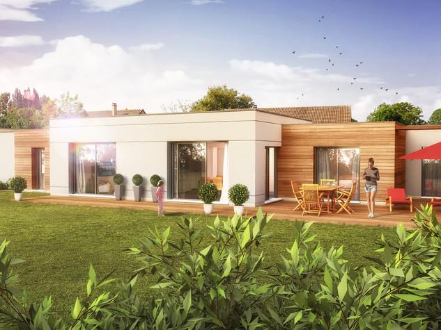 Construction d'une maison d'habitation