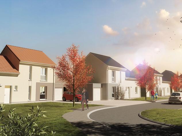 Construction de 6 logements individuels