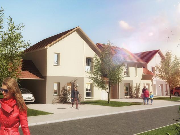 Construction de 6 logements individuels - Le Grand Jardin