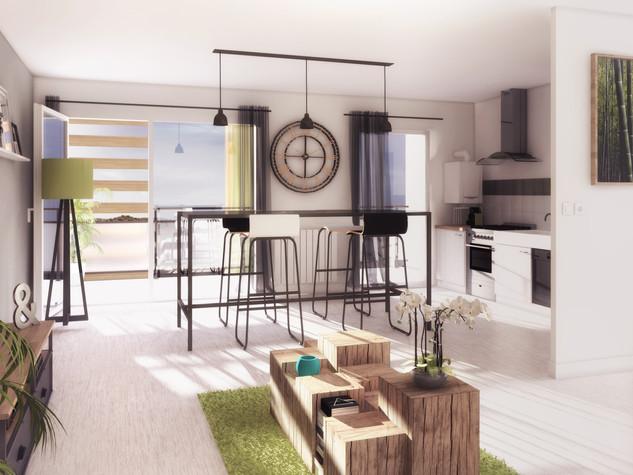 Construction de 46 logements - Résidence Blanchet