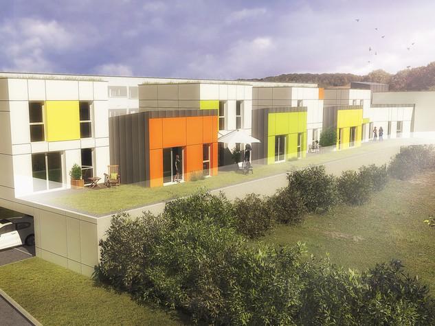 Construction de 16 logements sociaux et réhabilitation de 30 logements collectifs
