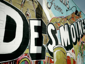 des moines wall
