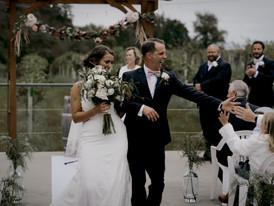 moody wedding ceremony