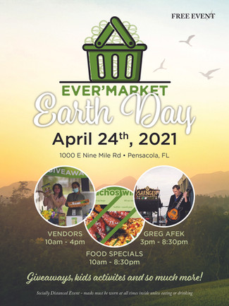 EARTH DAY IS IN APRIL!