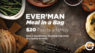 Ever'man Meal in a Bag Food Drive