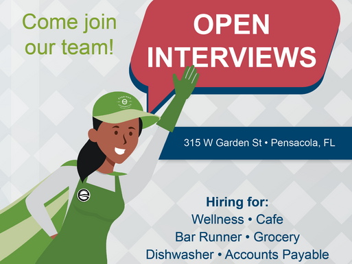OPEN POSITIONS!