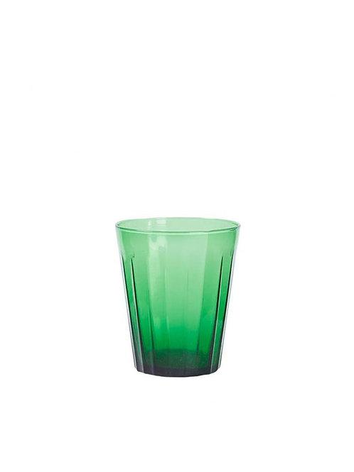Verre à eau vert