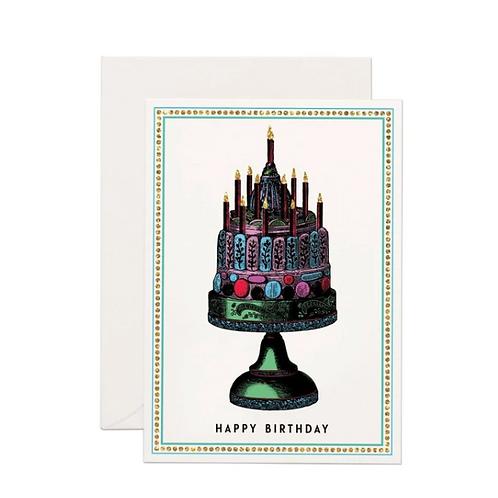 Carte de voeux Happy Birthday Cake