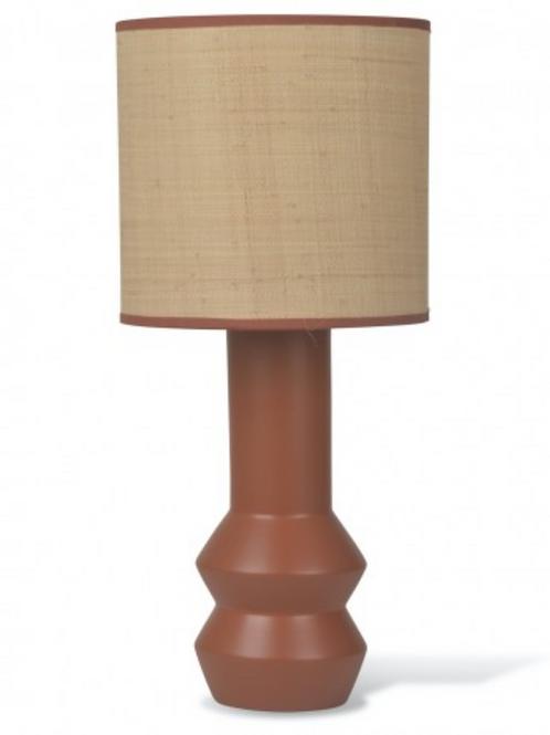 Lampe à poser en céramique Terracotta