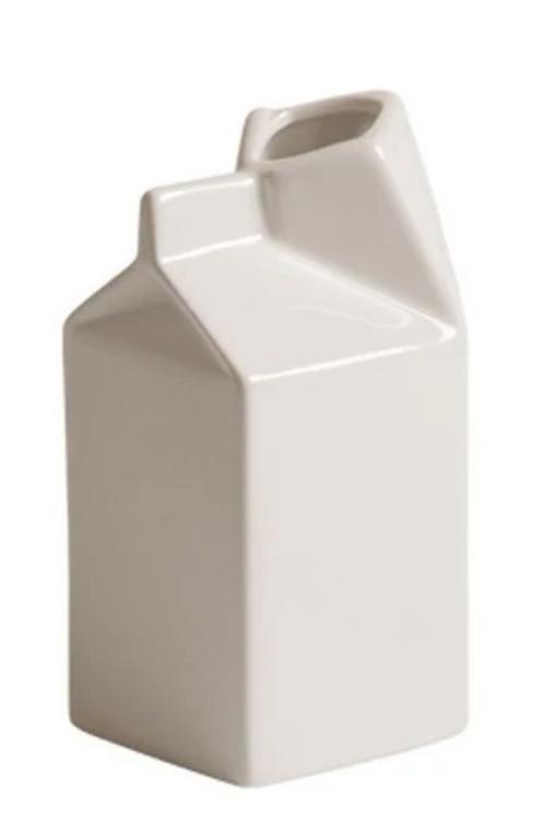 Brique de lait en porcelaine PM