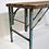 Thumbnail: Ancienne table à dîner bois/métal