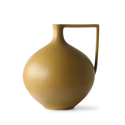 Jar en céramique - Moutarde