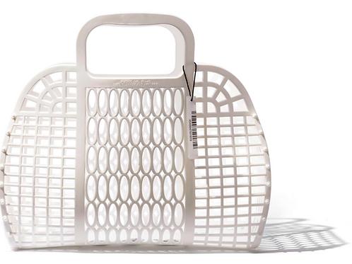 Panier en plastique GM - Blanc