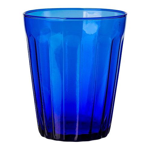 Verre à eau Lucca bleu klein