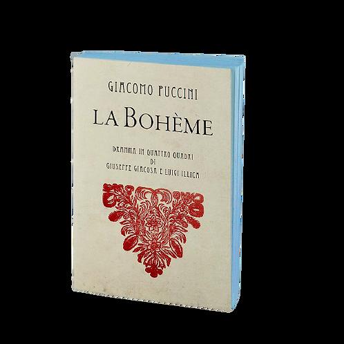 Carnet La Bohème PM