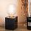 Thumbnail: Lampe à poser en marbre noir Athens - Carré
