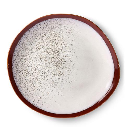 Assiette à dîner en céramique '70 - Frost