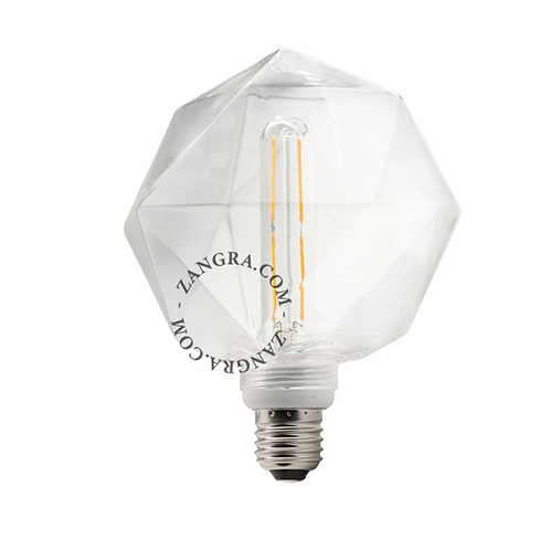 Ampoule Bulb Quartz Transparent