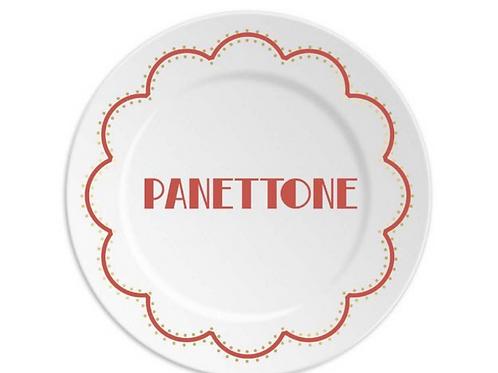 Assiette Panettone