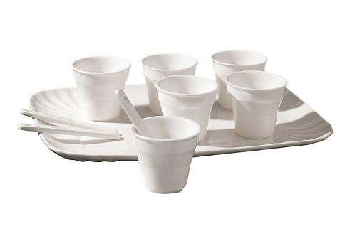 Set à café en porcelaine pour 6 personnes