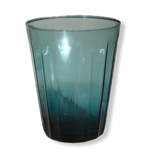 Verre à eau Lucca bleu