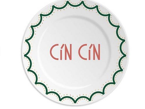Assiette Cin Cin