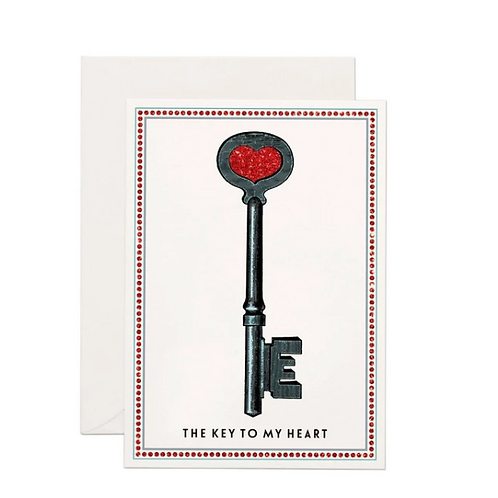 Carte de voeux The Key to my Heart